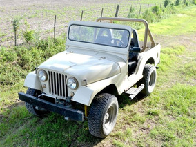 Jeep Ika Willys Año 62