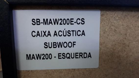 Caixa Acustica Panasonic Maw200e-cs 4 Ohms Nova