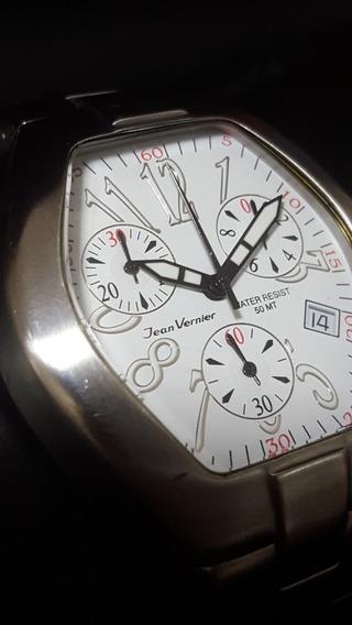 Relógio Jean Vernier Chronograph - Veja O Vídeo