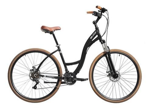 Imagem 1 de 1 de Bicicleta Urbana Blitz Comodo Aro 700-21v Preto Tamanho 18