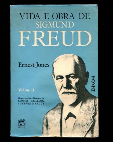 Sigmund Freud Vida E Obra - 2º Volume- Frete Grátis - L.2162