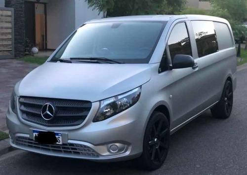 Imagen 1 de 15 de Mercedes-benz Vito 1.6 111 Cdi Furgon Mixto Aa 114cv 2018