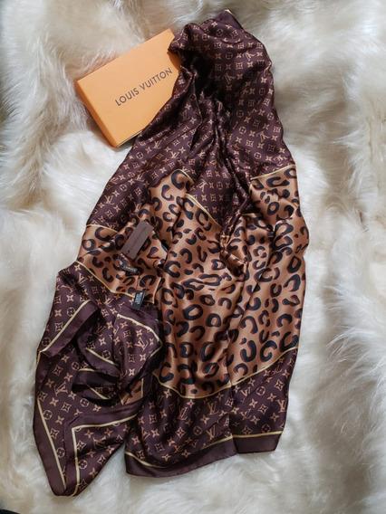 Echarpe Lenço Louis Vuitton Gucci 8 Modelos Disponíveis