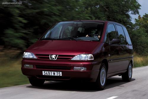 Manual De Despiece Peugeot 806 (1994-2002) Español