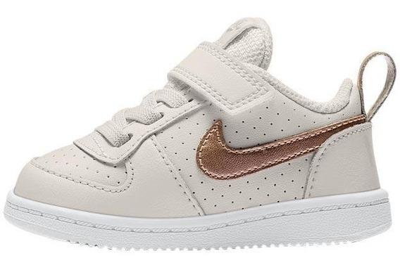 Tenis Nike Court Borough Low (bebe) Originales