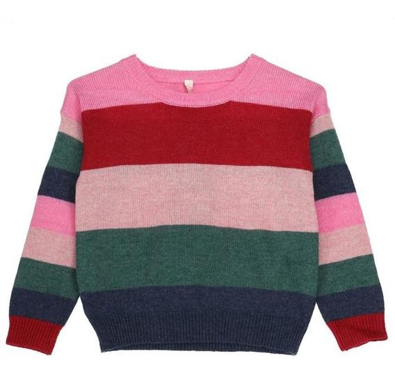 Sweaters Niña Hush Puppies Kids Gw20-swt/brownie Fucsia/p