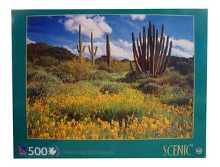 Rompecabezas X 500 Piezas Desierto De Sonor 3616a (5031)
