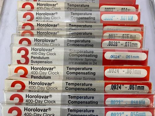 Imagen 1 de 10 de Suspensión Rotaria Para Reloj Horolovar 400 Días Hilo, Pelo.