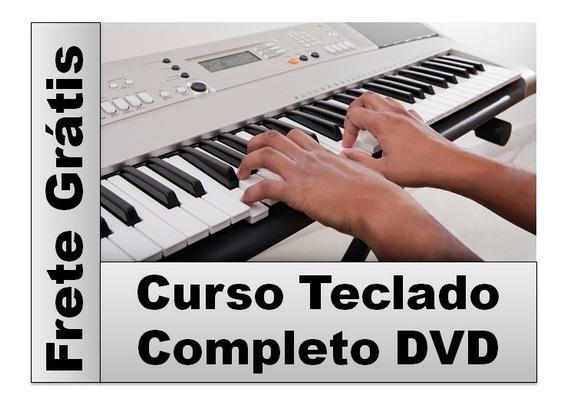 Curso Em Dvd Teclado Completo Frete Grátis
