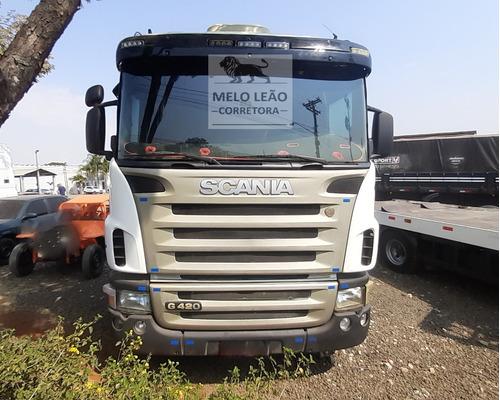 Imagem 1 de 15 de Scania G420 Trucada Mecânica Ok A6x2 - 09/10