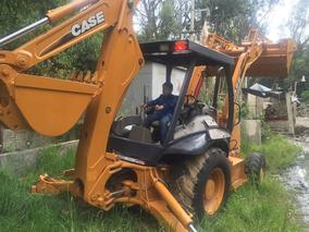 Retroexcavadora Case 580m 4x4 Modelo 2008 Serie 2 4700 Hrs