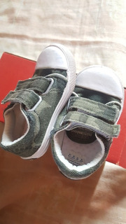 Zapatillas De Bebé Camufladas Mimo & Co Como Nuevas!!!