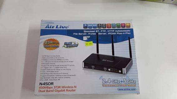 Air Live N450r Dual Band Gigabit Router