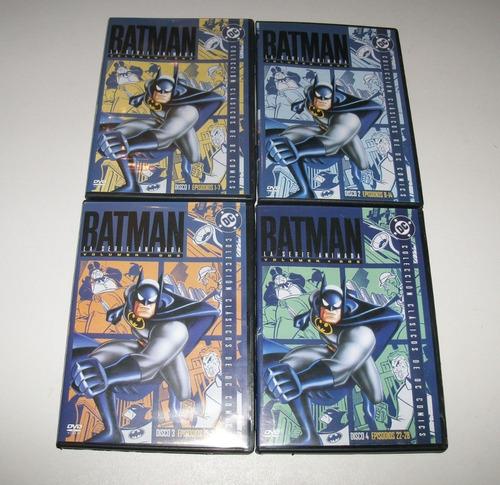 Imagen 1 de 3 de Batman: La Serie Animada Vol.2 / Cuatro Dvds Originales