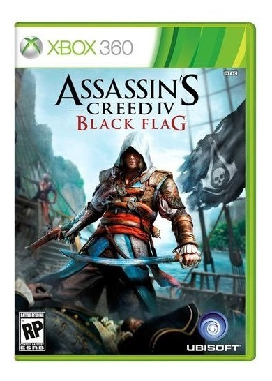 Assassins Creed Iv Black Flag Xbox 360 Jogo Digital Original