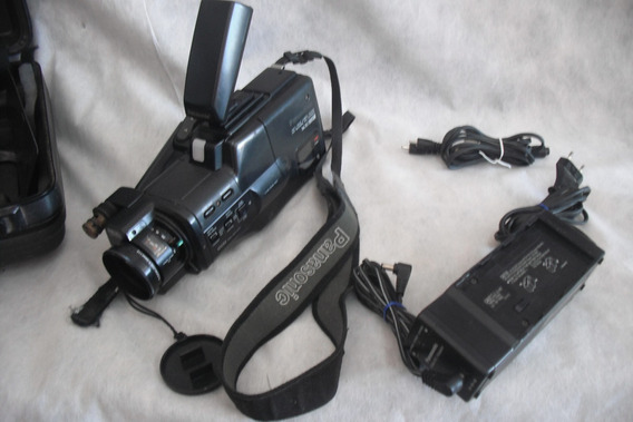 Camera Panasonic Vhs Nv M30 Na Maleta