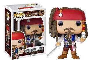 Funko Pop Capitan Jack Sparrow - Piratas Del Caribe #172