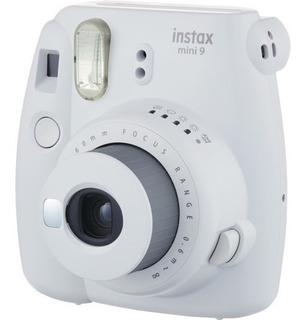 Cámara Instax Mini 9 Fujifilm Color Humo Blanco