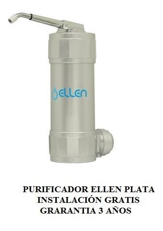 Purificador Ellen+instalación Gratis+filtros Para 3 Años