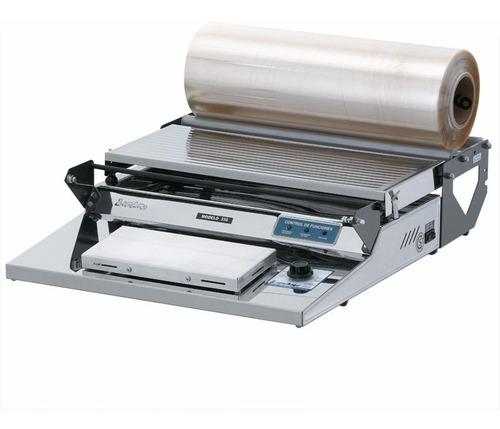 Termoselladora Para Film De Pvc Lipari Mod 350 Acero Inox