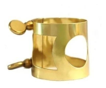 Braçadeira Sax Alto Metal Profissional - Abraçadeira