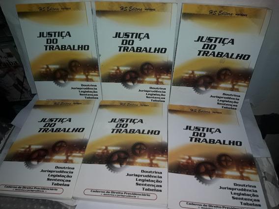 Lote 6 Livros Justiça Do Trabalho Julho A Dezembro 2010