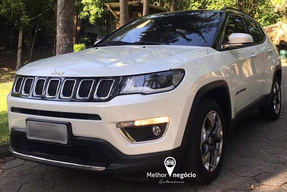 Jeep Compass Limited 2.0 4x2 Flex Aut. 2018 Branco