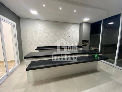 Casa Com 3 Dormitórios À Venda, 195 M² Por R$ 690.000 - Recreio Das Acácias - Ribeirão Preto/sp - Ca1476