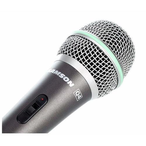 Samson Q4 Microfono Dinamico Cardioide