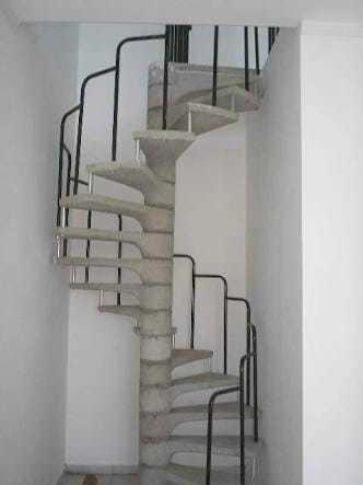 Imagem 1 de 2 de Corrimão Escada Caracol