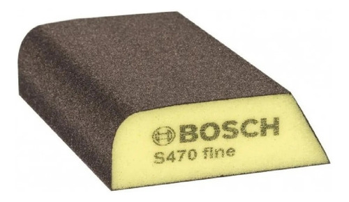 Imagen 1 de 1 de Esponja Abrasiva Lija Taco Bosch S470 Grano Fino Ionlux