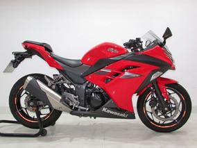 Kawasaki Ninja 300 2017 Vermelha