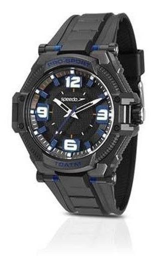 Relógio Speedo Masculino 80577g0evnp1 Preto Analógico Rel