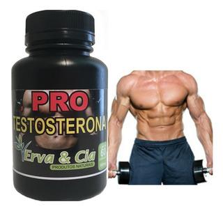 Aumento Da Testosterona E Libido 100% Natural 60 Capsulas