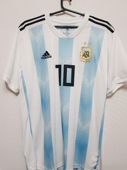 Camiseta Seleccion Argentina 2018 #messi