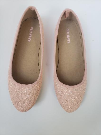 Zapatos Ballerina Nena Con Glitter