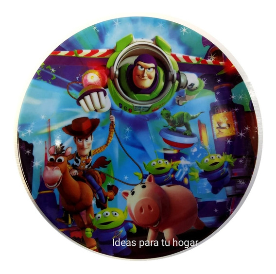 Platos Toy Story Para Fiestas Infantiles 10 Pzs