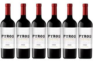 Vino Pyros Syrah Caja X6 750 Ml