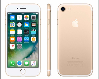 iPhone 7 32 Gb Gold De Vitrine