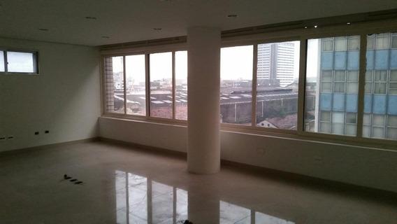 Sala Em Centro, Santos/sp De 160m² Para Locação R$ 4.500,00/mes - Sa326253