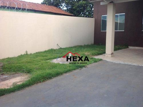 Casa Com 3 Dormitórios À Venda, 95 M² Por R$ 200.000,00 - Cardoso Continuação - Aparecida De Goiânia/go - Ca0575