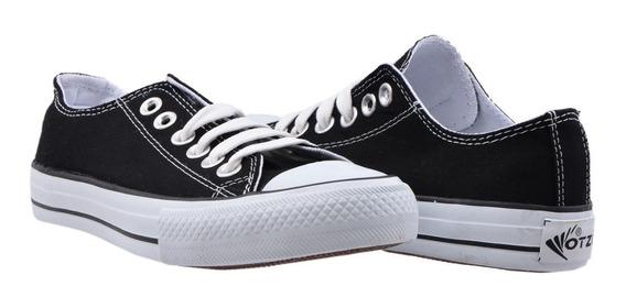 Zapato Tenis Calzado Mujer Erez Tipo Converse
