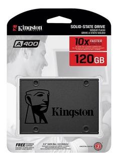 Disco Rigido Solido Kingston Ssd 120gb A400 Sata Pce