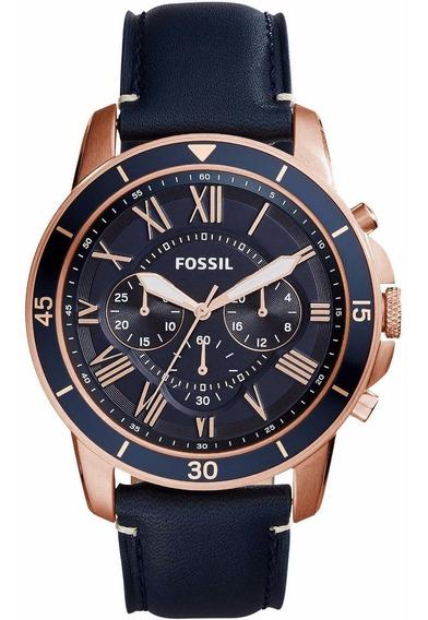 Relógio Fossil Masculino Grand Sport - Fs5237