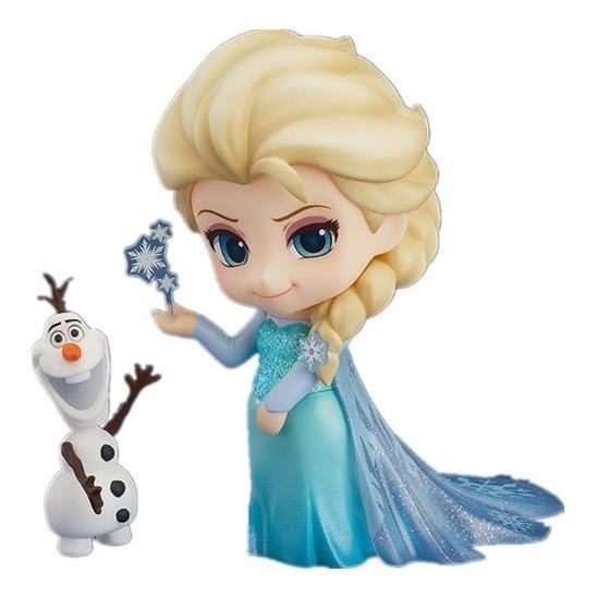 Boneca Princesa Elsa Frozen Estilo Personaliza Lindo Top