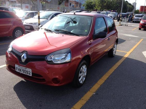 Clio Autentique 1.0 3p Vermelho 13/14 - Oportunidade!!!