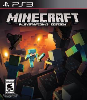 Minecraft Ps3 Juego Físico Nuevo - Original Envio Gratis Full