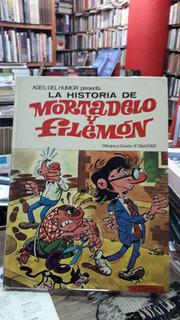 La Historia De Mortadelo Y Filemon Nº10 Tapa Dura