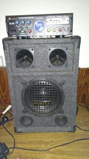 Parlante Grande Con Amplificador Sale Con Hot Sale A Solo 15