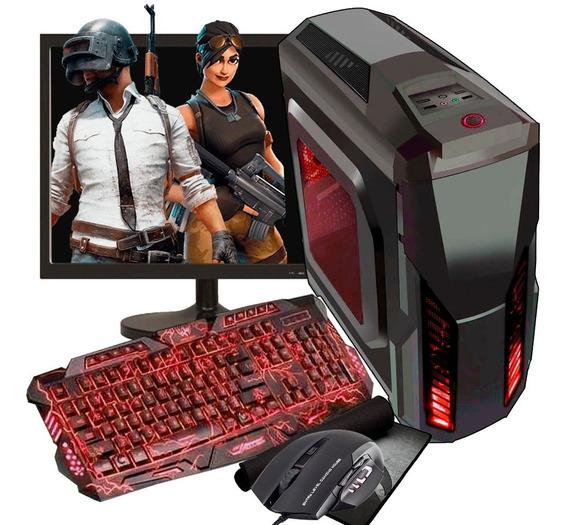 Pc Gamer I5 4gb Hight/ 1tb/ Gtx 1050 2gb/ Tela 19/ Jogos